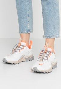 Reebok Classic - DMXPERT - Sneakersy niskie - trace grey/beige/solar orange - 0