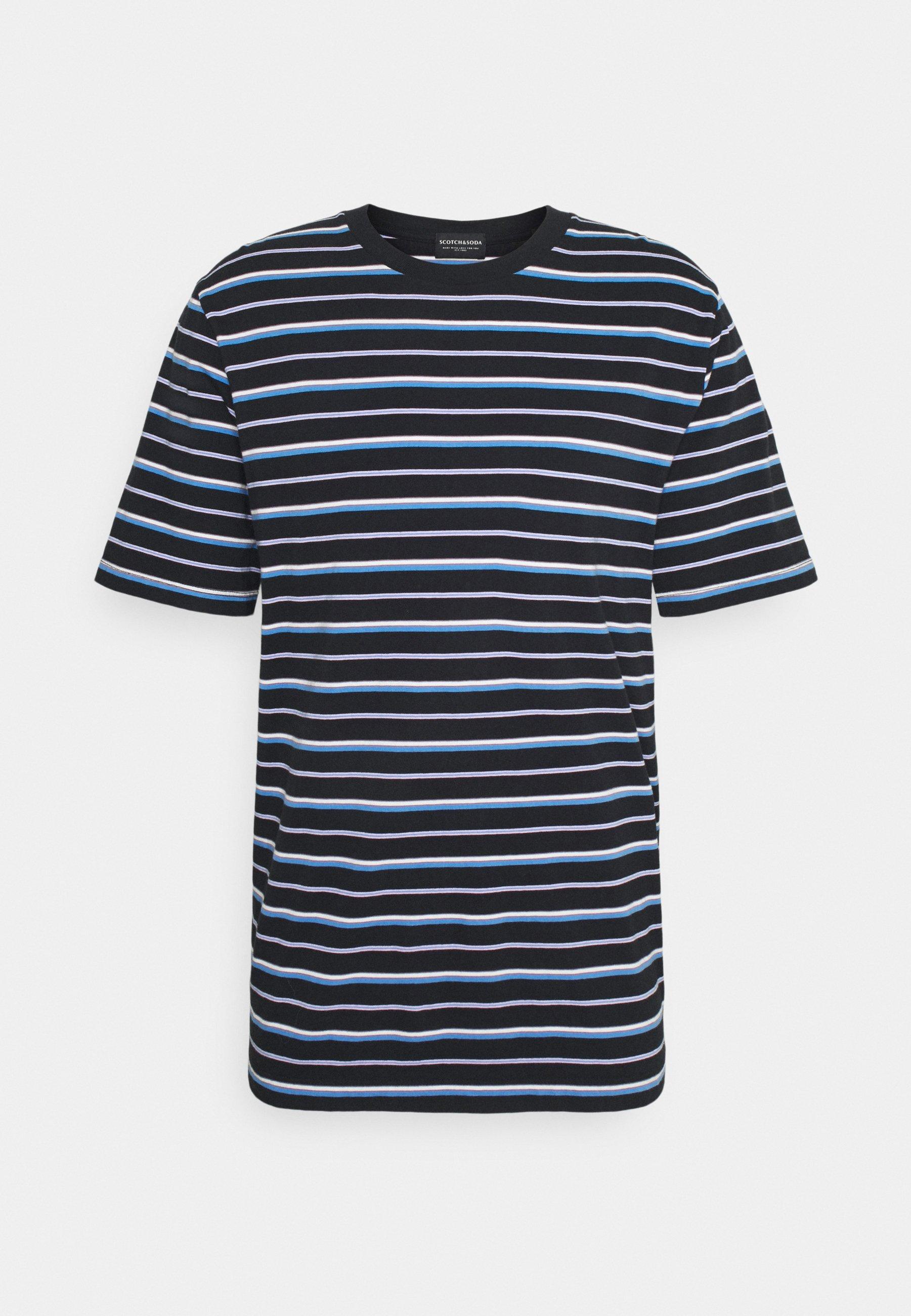 Men CLASSIC PATTERNED CREWNECK - Print T-shirt
