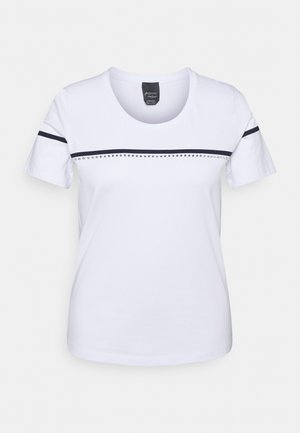 VANTO - Print T-shirt - optic white