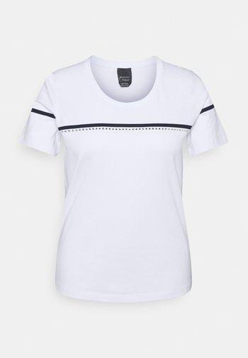 VANTO - Print T-shirt - optic white