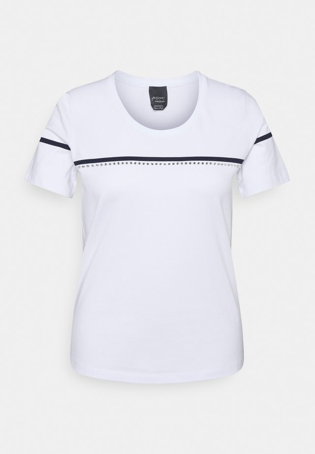 VANTO - T-shirts med print - optic white