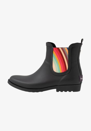 EXCLUSIVE RAINBOOTIE - Stivali di gomma - black