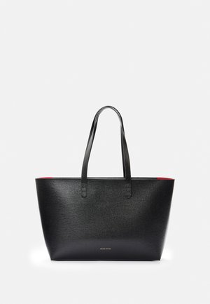 SMALL ZIP TOTE - Shoppingveske - black/flamma
