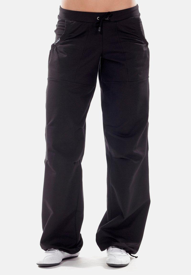 Winshape - Outdoor trousers - schwarz