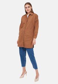 LC Waikiki - Denim jacket - brown - 1