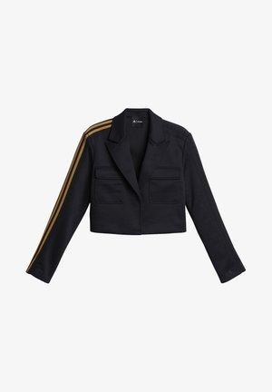 IVY PARK CROP SUIT JACKET - Blazer - black