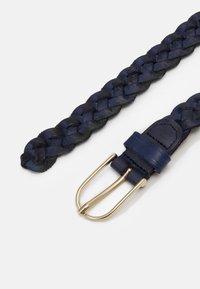 Vanzetti - Braided belt - marine - 1