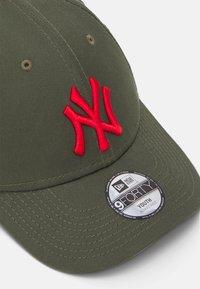 New Era - LEAGUE 9FORTY NEW YORK YANKEES - Kšiltovka - dark green - 3