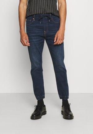 Jeans baggy - dark rich indigo
