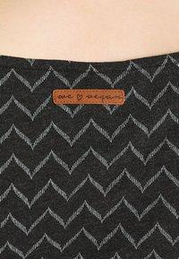 Ragwear - TAG ZIG ZAG - Shift dress - black - 4