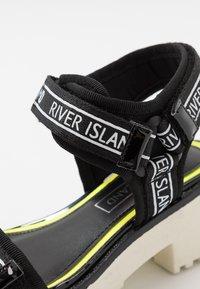 River Island - Sandály - black - 2