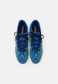 adidas Performance - NEMEZIZ .4 FXG - Moulded stud football boots - royal blue/solar yellow/footwear white - 3