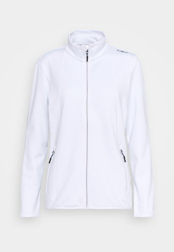 WOMAN JACKET - Giacca in pile - bianco