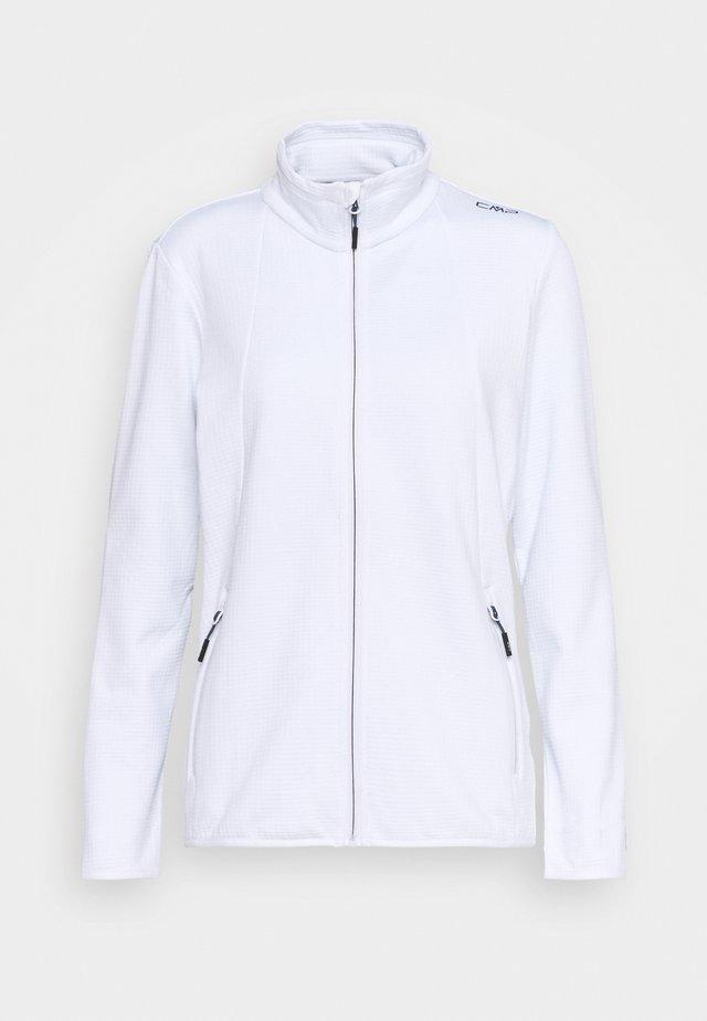 WOMAN JACKET - Fleece jacket - bianco