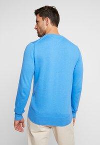Tommy Hilfiger - PIMA CREW NECK - Stickad tröja - blue - 2