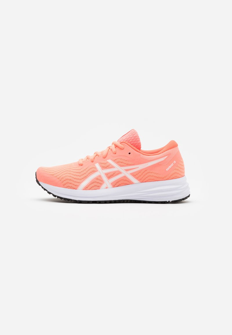ASICS - PATRIOT 12 - Neutral running shoes - sun coral/white