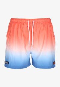 Ellesse - BADESHORTS DEM SLACKERS FADE - Swimming shorts - orange - 0