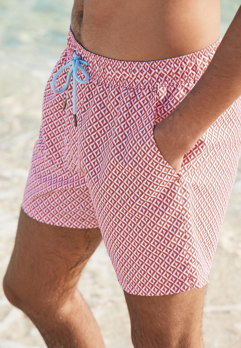 Next - 2 PACK - Swimming shorts - red