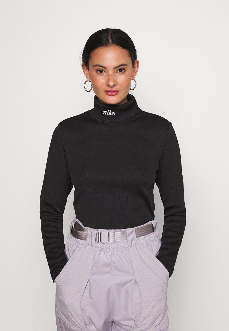 Nike Sportswear - Top sdlouhým rukávem - black