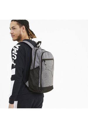 BUZZ UNISEX - Backpack - medium gray heather