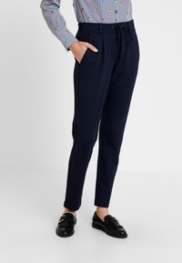 TOM TAILOR - PANTS ANKLE - Trousers - night sky blue - 0