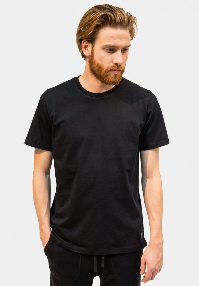 T-shirt basic - off black