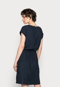 TOM TAILOR - DRESS CASUAL WITH POCKETS - Day dress - sky captain blue - 2