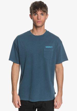 Print T-shirt - blue