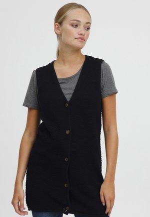 HEIDI - Waistcoat - black