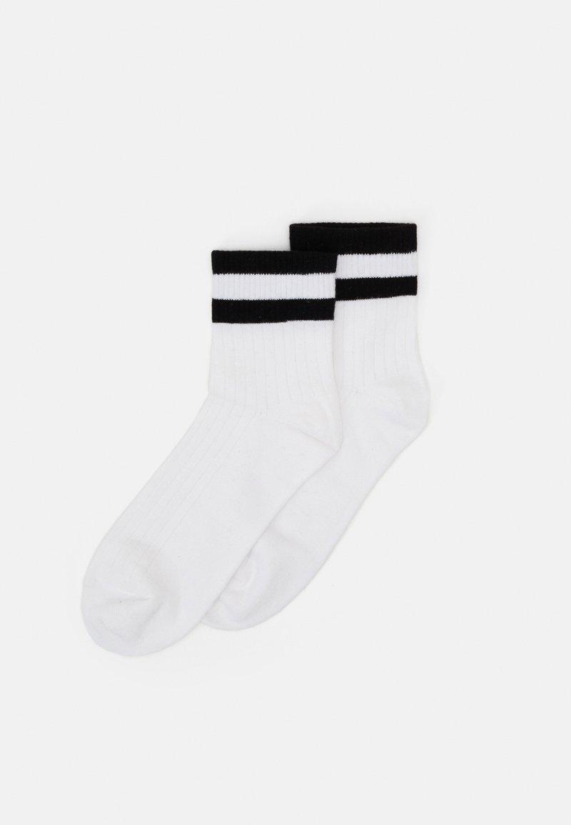 Monki - Socks - white/black