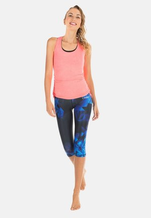 HWL202 RUBIN HIGH WAIST- 3/4 SPORTHOSE - 3/4 sports trousers - saphir