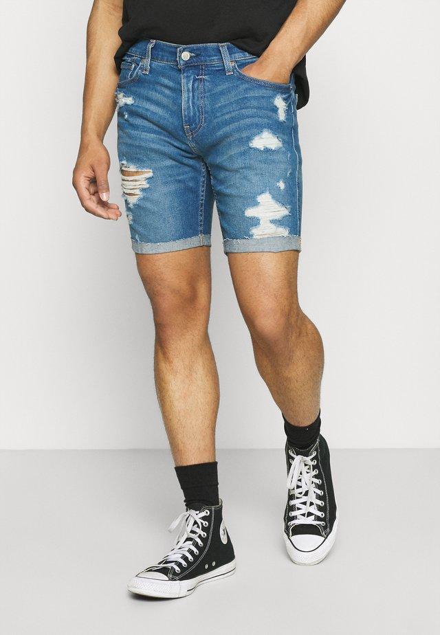Shorts di jeans - bright medium
