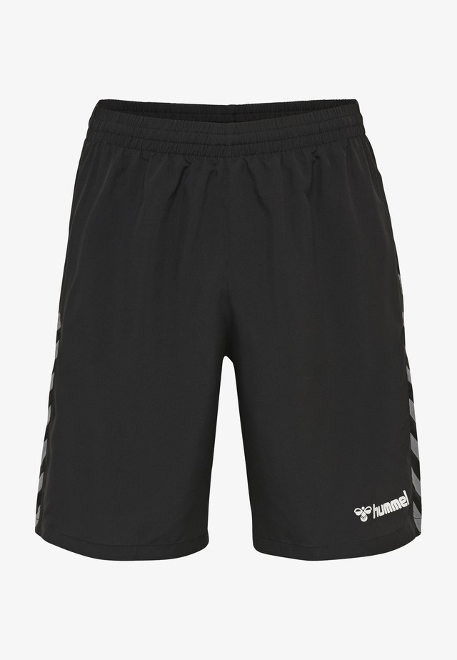 Sports shorts - black/white