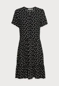 InWear - VIKSA DRESS - Sukienka letnia - black double dot - 4
