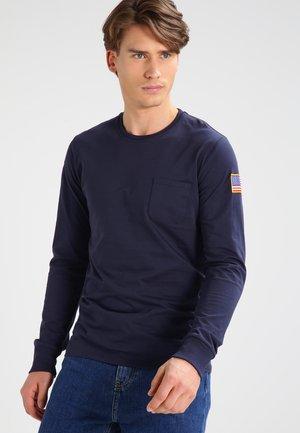 Long sleeved top - rep blue