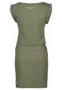 Ragwear - KLEID SLAVKA W - Žerzejové šaty - olive - 1