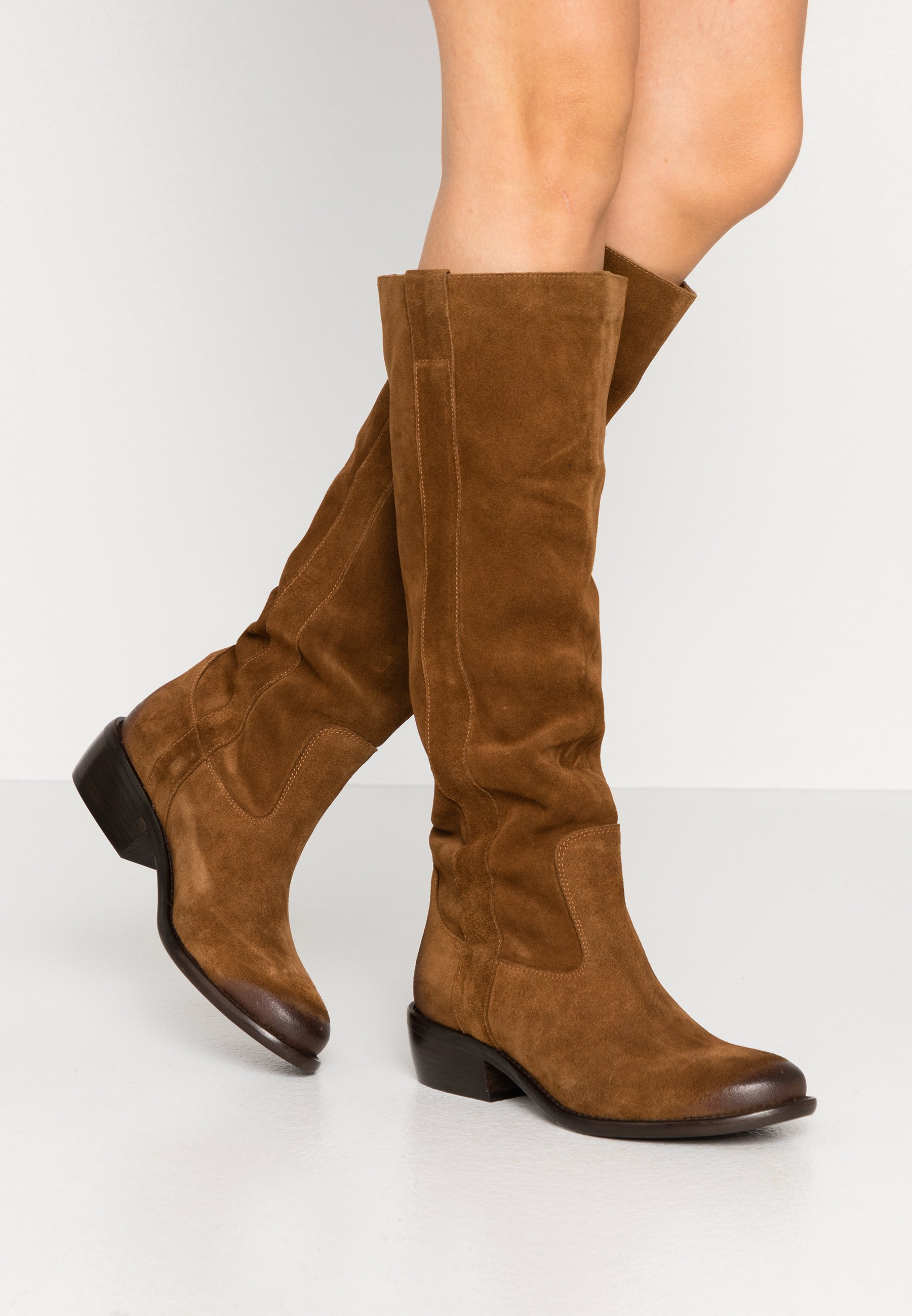 Inexpensive Cheapest Lazamani Boots - cognac | women's shoes 2020 6EaPH