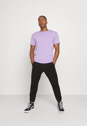 2 PACK UNISEX - T-shirt - bas - purple/black
