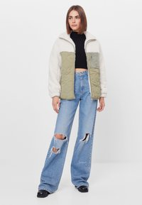 Bershka - Winter jacket - stone - 1