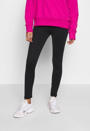 SAMANTHA HIGH WAIST - Leggings - Trousers - black
