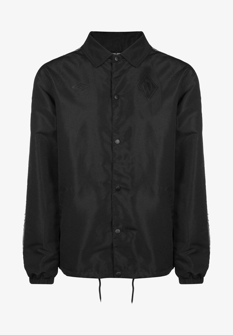 Umbro - SV WERDER BREMEN COACH HERREN - Light jacket - black