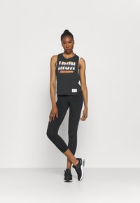 Under Armour - PROJECT ROCK IRON TANK - Top - black - 1