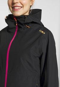CMP - WOMAN JACKET FIX HOOD - Hardshell jacket - antracite - 7