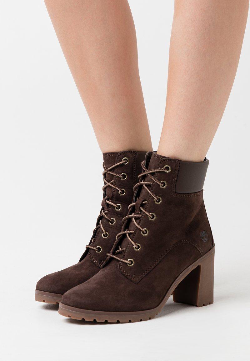 Timberland - ALLINGTON 6 IN LACE UP - High Heel Stiefelette - dark brown