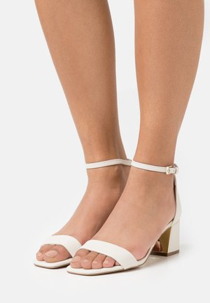 KEDEAVIEL - Sandals - white