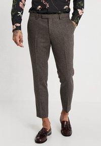 Twisted Tailor - MOONLIGHT TROUSERS - Pantaloni eleganti - brown - 0