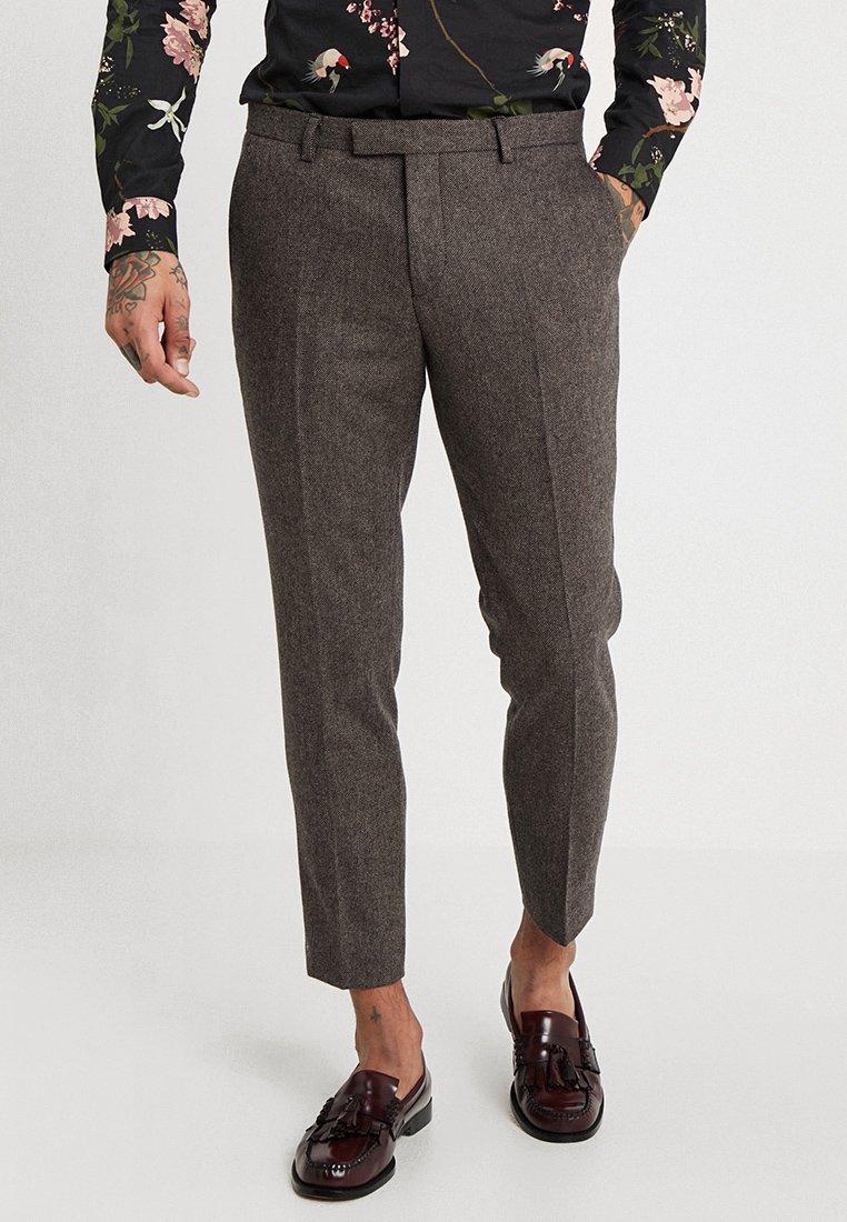 Twisted Tailor - MOONLIGHT TROUSERS - Pantaloni eleganti - brown