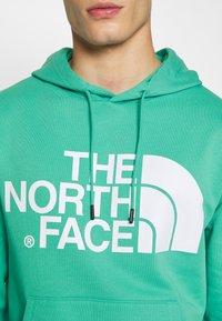 The North Face - STANDARD HOODIE - Bluza z kapturem - lagoon - 6