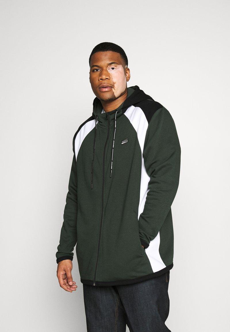 Jack & Jones - JCONOLAN  - Zip-up hoodie - darkest spruce