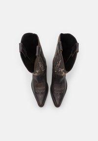 Kentucky's Western - UNISEX  - Cowboy/Biker boots - madison testa di moro/roc grey - 3